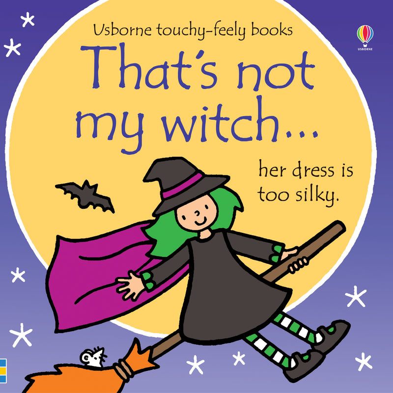 Thats Not My Witch (Touchy Feely) Book