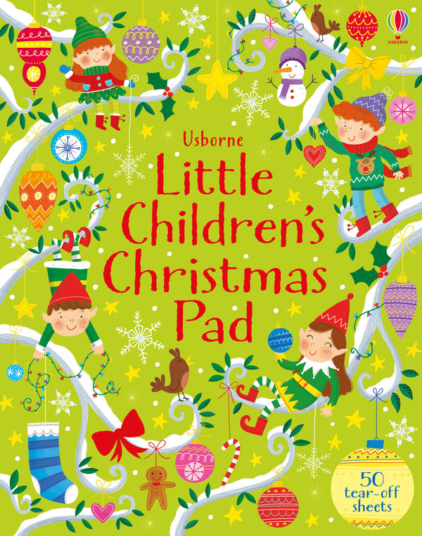 Little Childrens Christmas Activity Pad