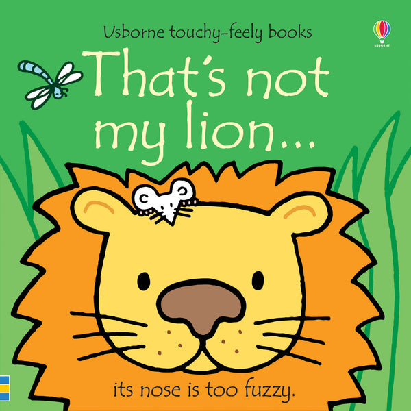 Thats Not My Lion (Touchy Feely) Book