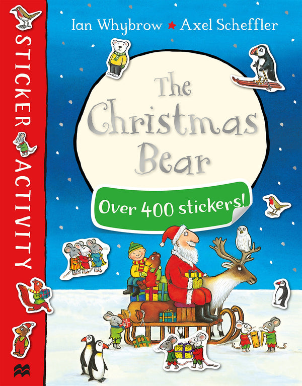 Christmas Bear Sticker Book