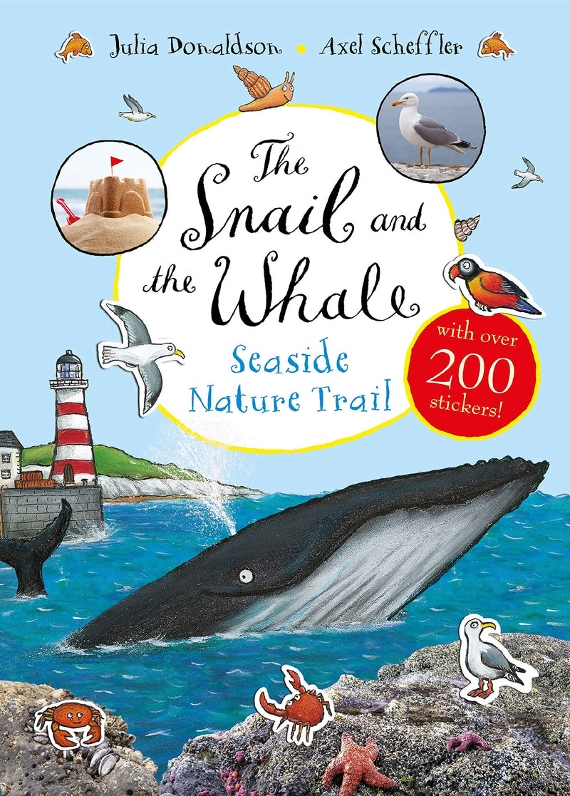 Snail And The Whale Seaside Nature Trail Book