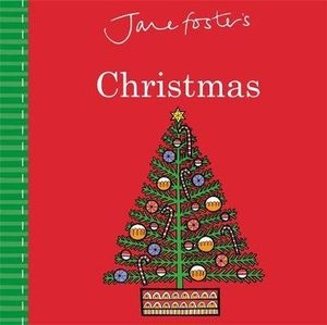 Jane Fosters Christmas (Board) Book