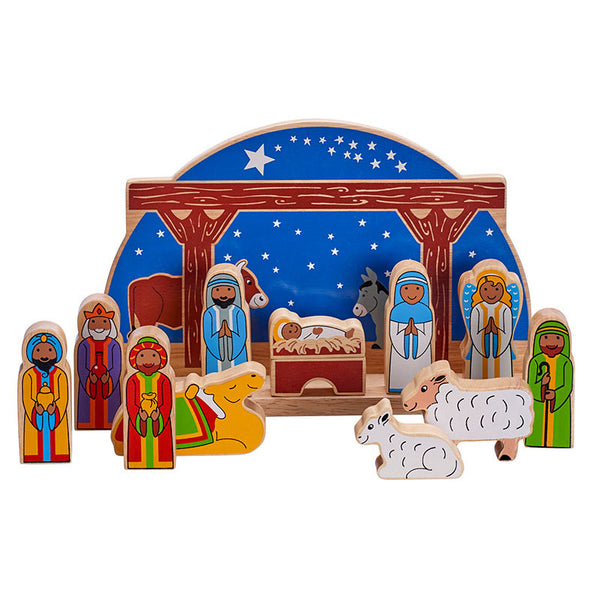 Lanka Kade Deluxe Starry Night Nativity (Large)