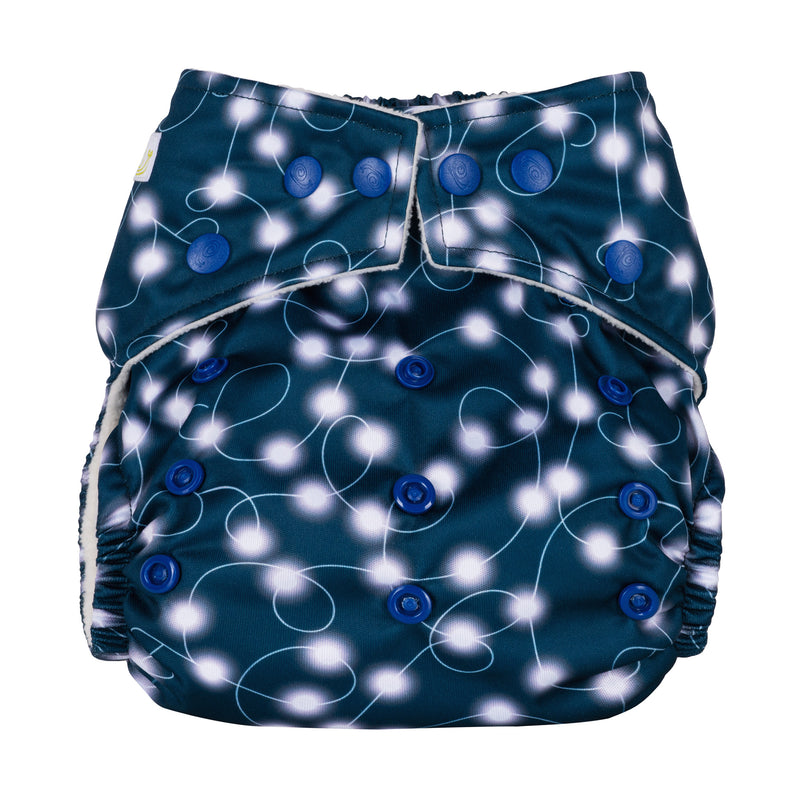 Baba & Boo One Size Nappy - Fairy Lights