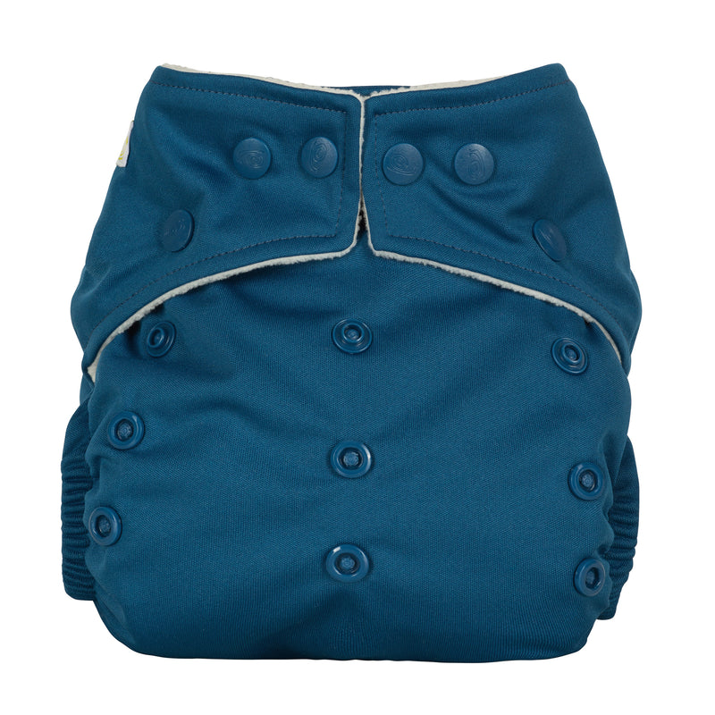 Baba & Boo One Size Nappy - Midnight