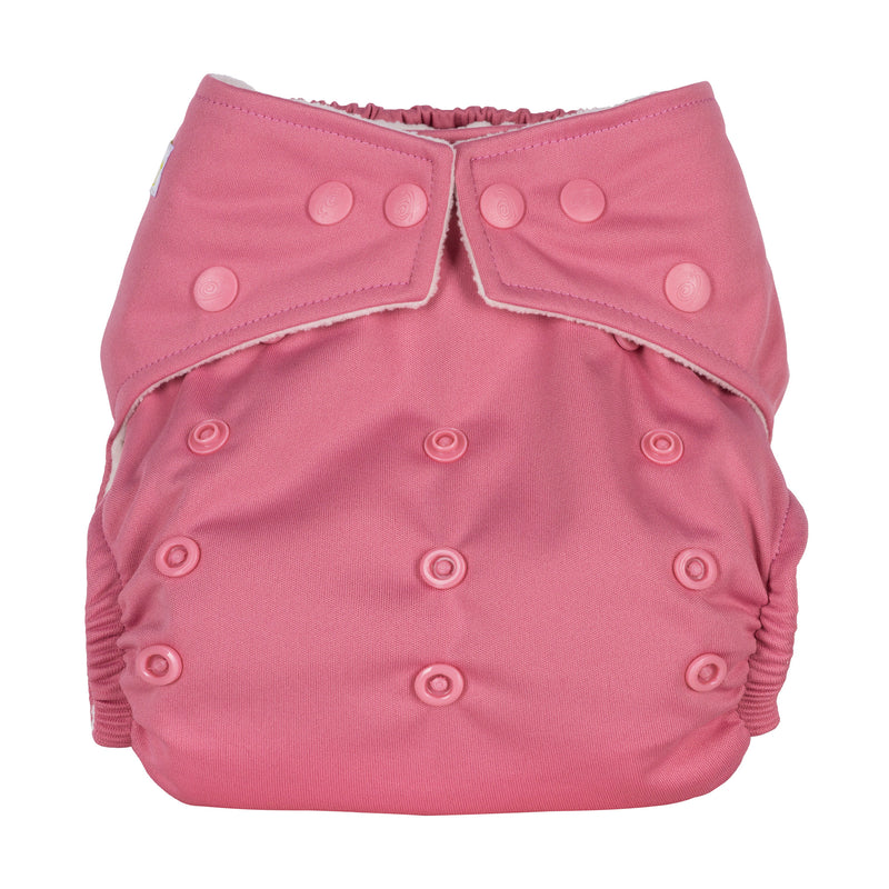 Baba & Boo One Size Nappy - Rose