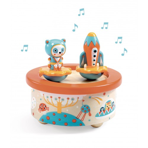 Djeco Magnetic Music Box - Space Melody