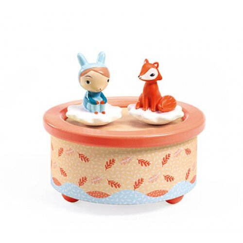 Djeco Magnetic Music Box - Fox Melody