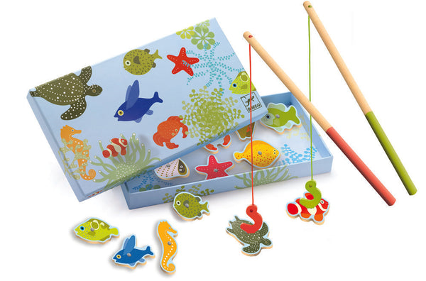 Djeco Fishing Tropical Magnetic Fishing Game