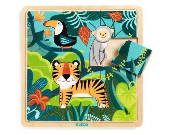 Djeco Wooden Jungle Puzzle
