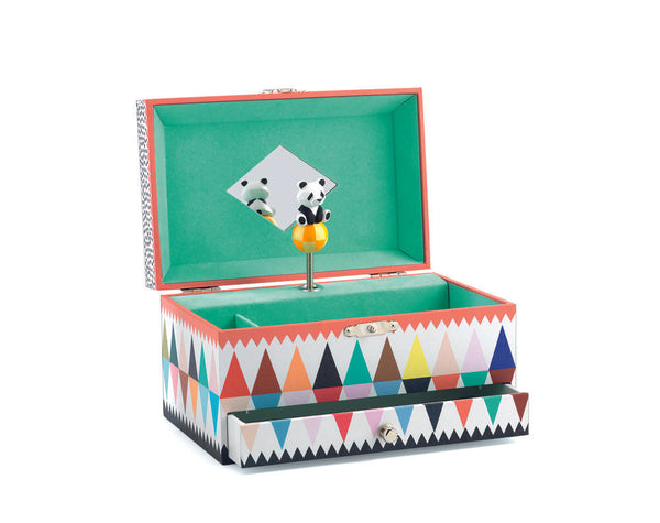 Djeco Panda'S Song Musical Jewellery Box