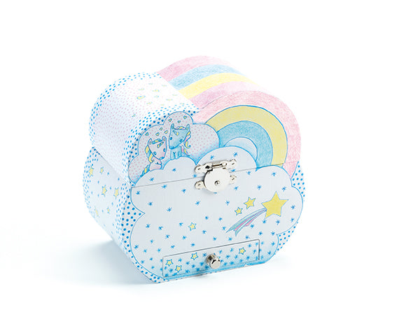 Djeco Unicorns's dream Music Box