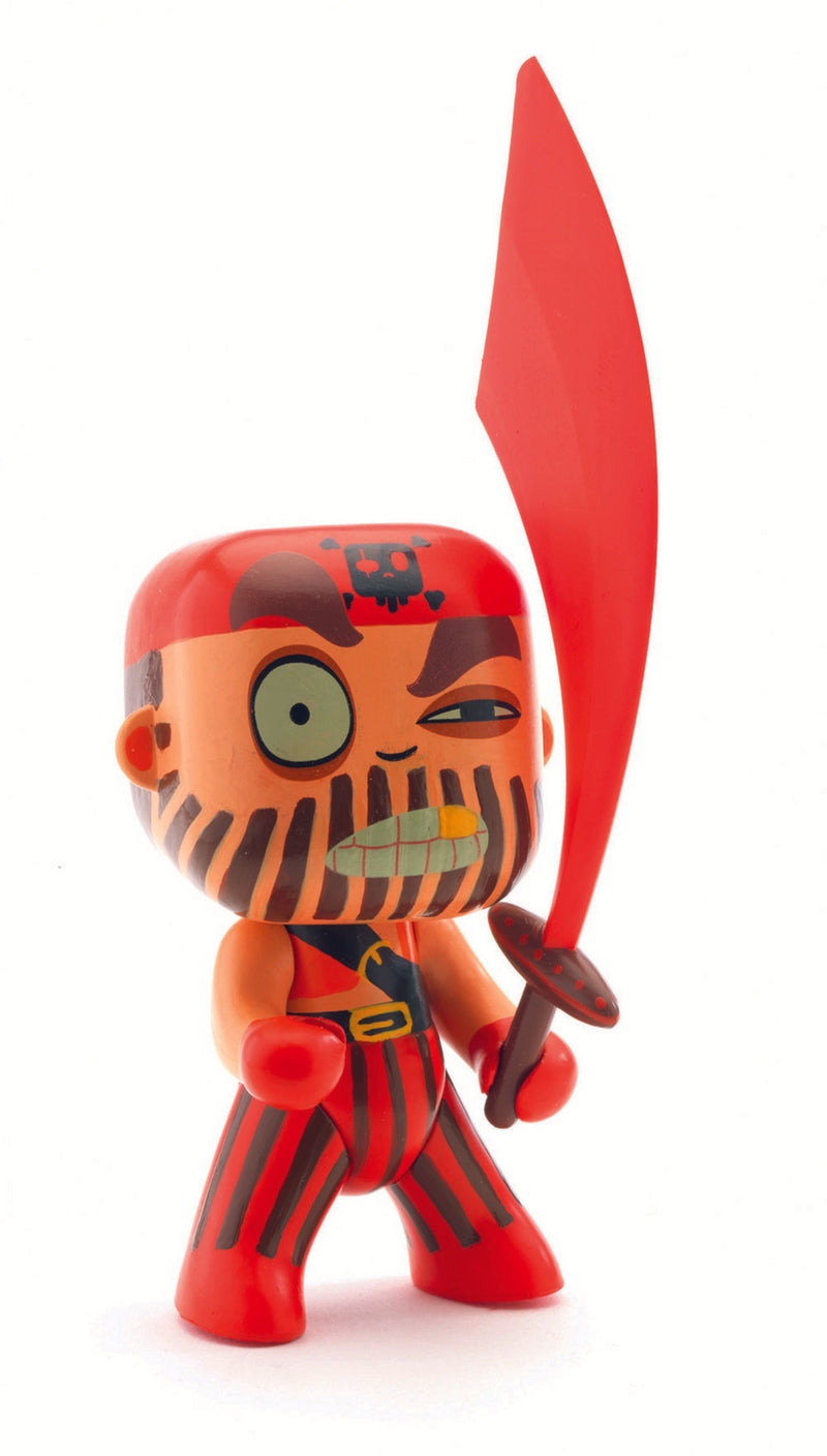 Djeco Captain Red Arty Toy