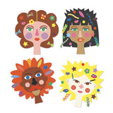 Djeco Create with Stickers - Hairdresser