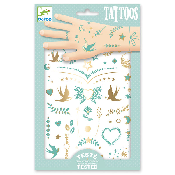 Djeco Tattoos - Lily's jewels