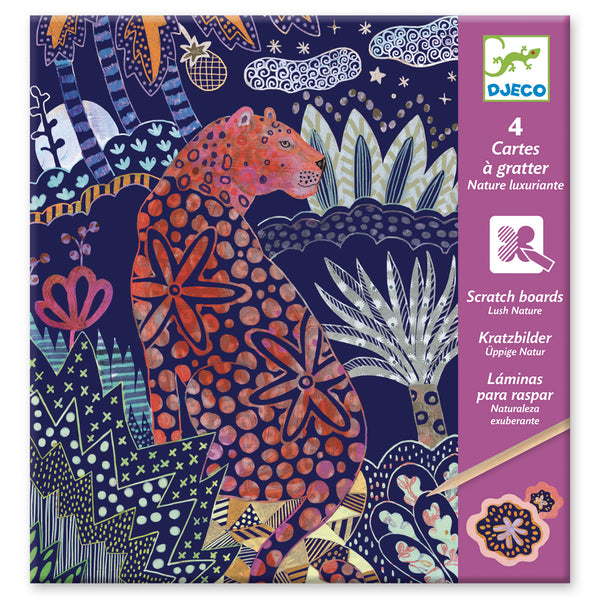 Djeco Scratch Cards Lush Nature
