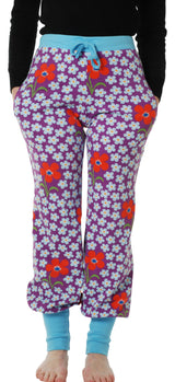 Duns Baggy Pants Adults - Flower Amethyst