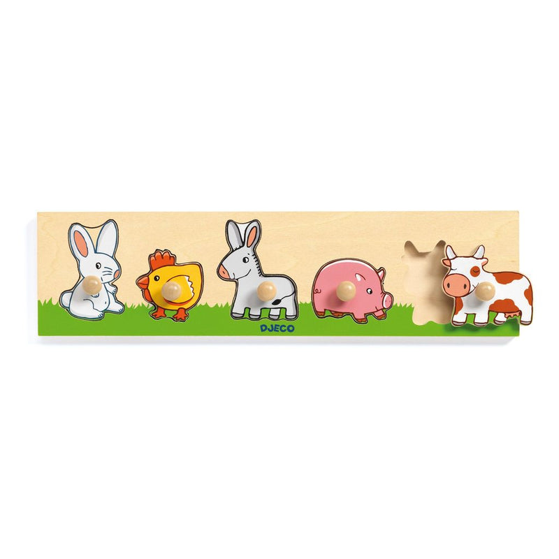 Djeco Farm'n'Co Peg Puzzle