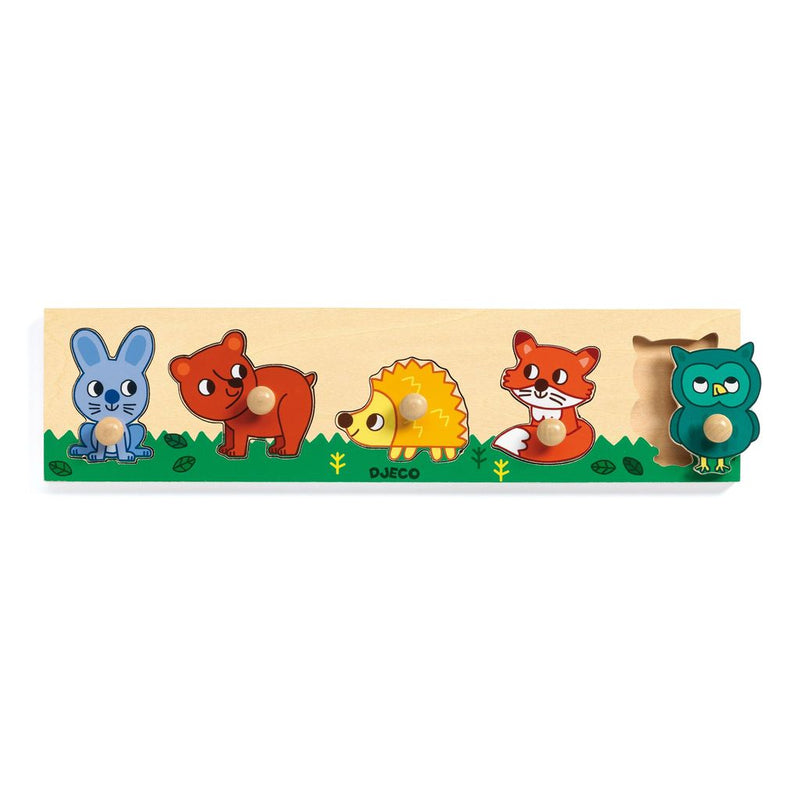 Djeco Forest'n'Co Peg Puzzle
