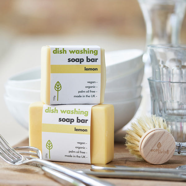 Eco Living Washing-up Soap Bar - Lemon 155g