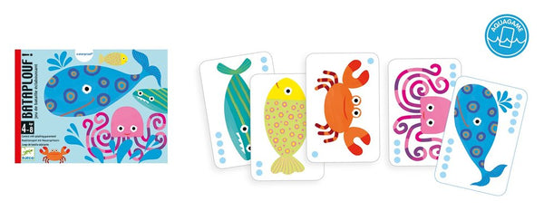 Djeco Bataplouf Waterproof Card Game