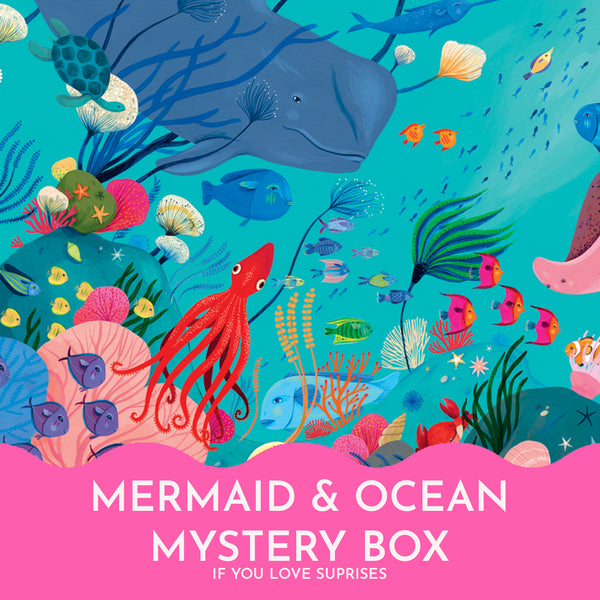 The Mermaid & Ocean Mystery Box