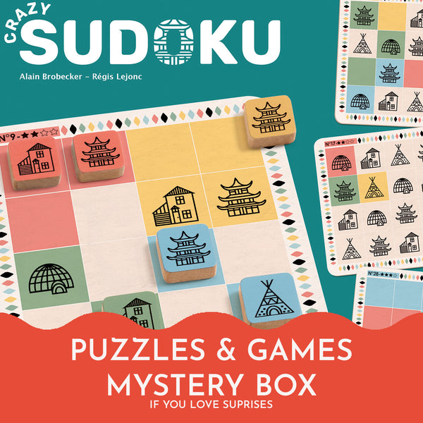 The Puzzle and Games Mystery Box