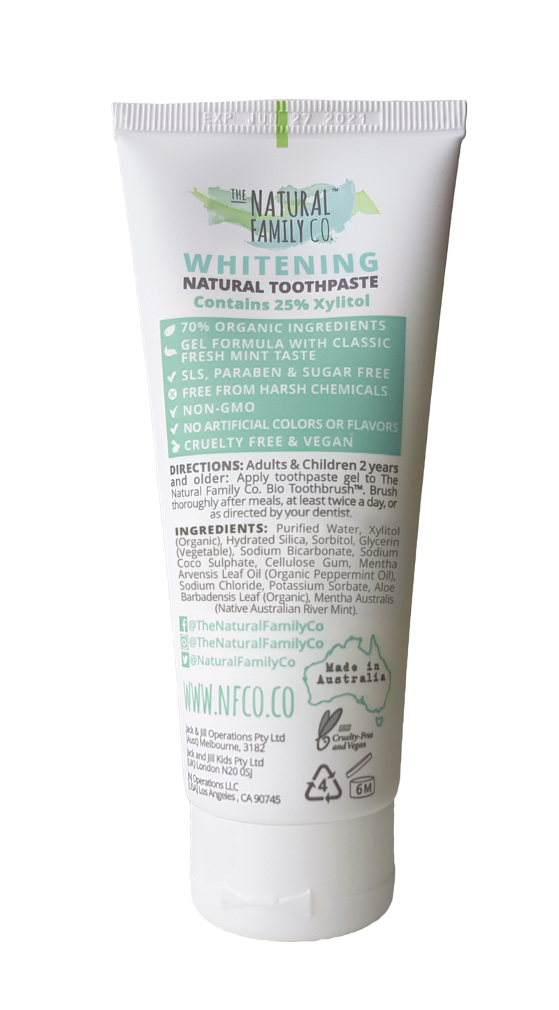 Jack N Jill Whitening Toothpaste 100G