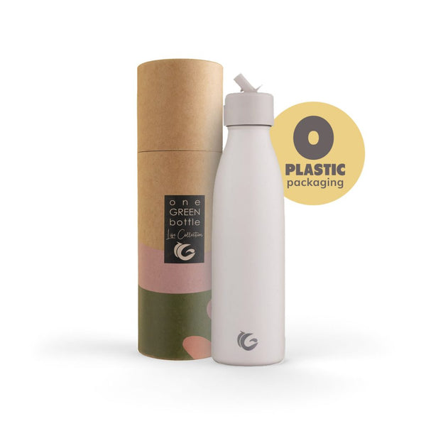 500ml One Green Bottle Life Collection Insulated Bottle - pompom