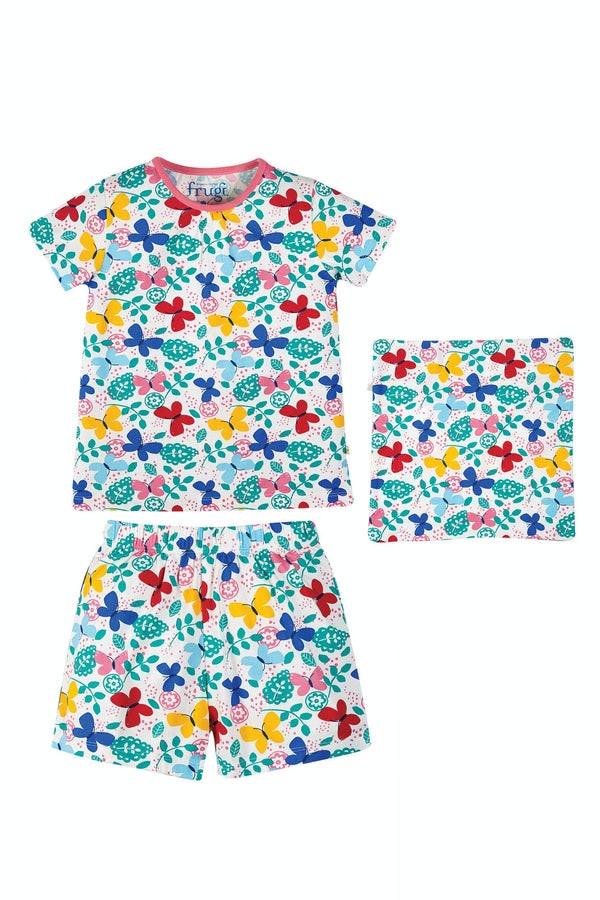 Frugi Sleepy Pack A PJ - Mini Butterflies