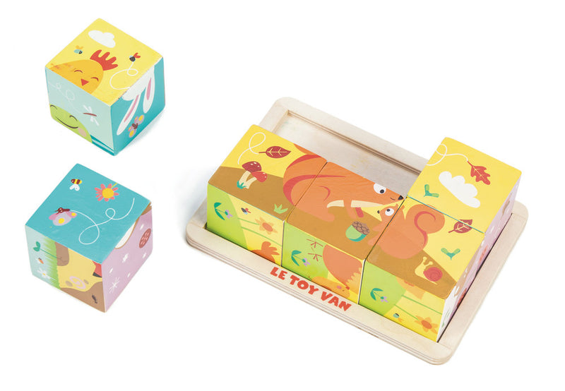 Le Toy Van All Seasons Cube Puzzle