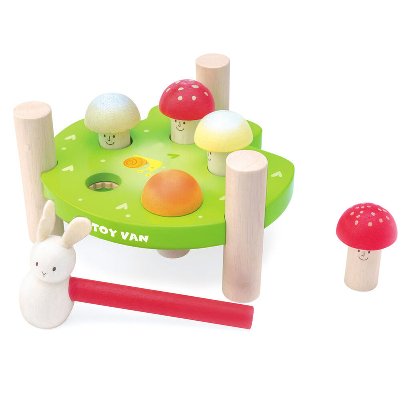 Le Toy Van Mr Mushroom Hammer Bench