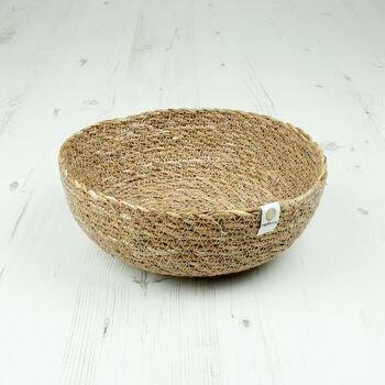 Respiin Natural Seagrass Bowl - Medium