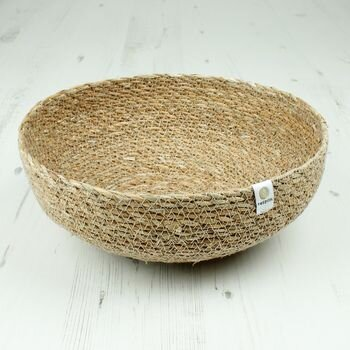 Respiin Natural Seagrass Bowl - Large