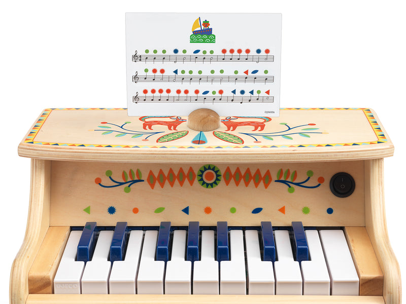 Djeco Electronic piano 18 keys