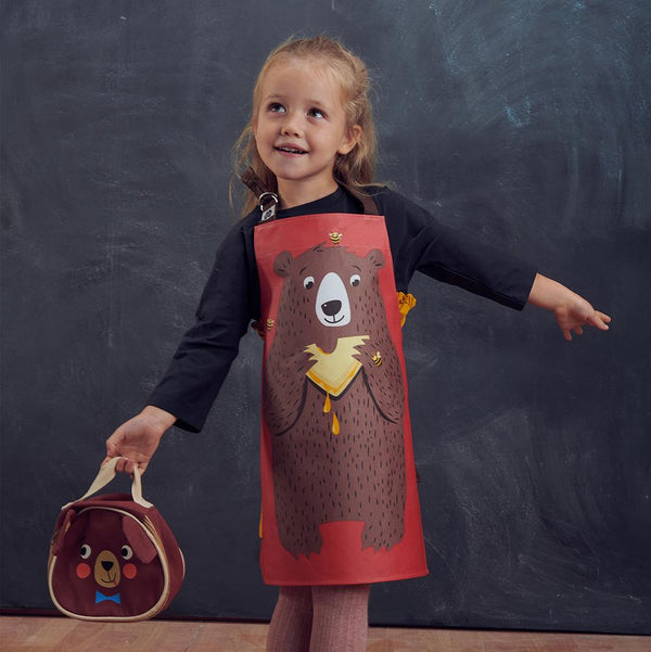 Threadbear Fred The Bear Cotton Apron