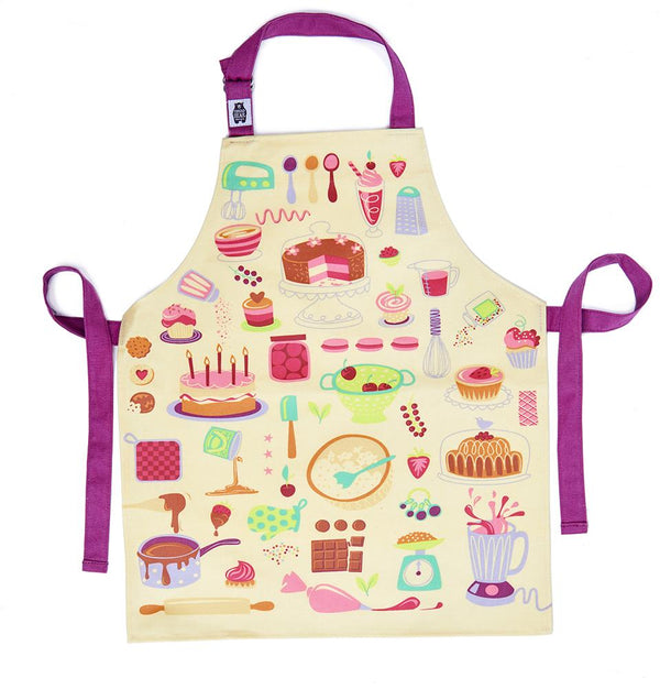 Threadbear Let's Bake Cotton Apron