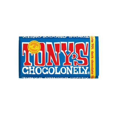 Tony's Chocolonely Extra Dark 70% 180g