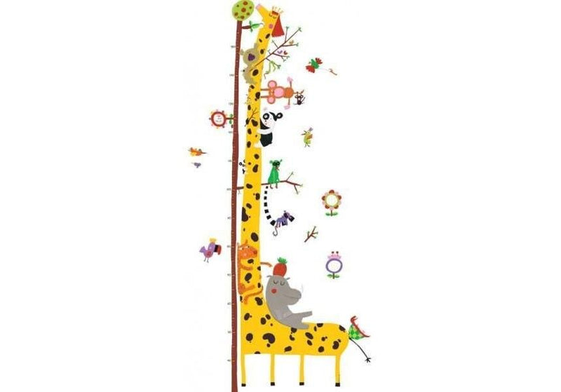 Djeco Wall Stickers Height Chart - Friends Of The Amazon