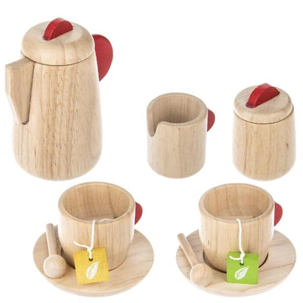 Plan Toys Natural Wooden Tea Set