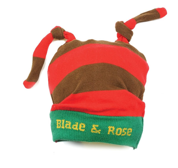 Blade And Rose Santa Red And Brown Christmas Hat 0-12M