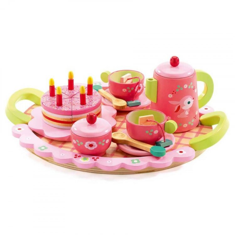 Djeco Tea Set - Pink