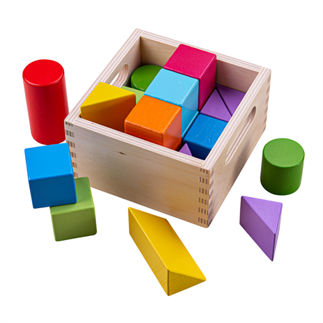 Bigjigs First Rainbow Building Blocks