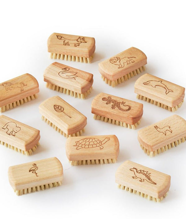 Children's Natural Vegan Nail Brush (100% FSC)