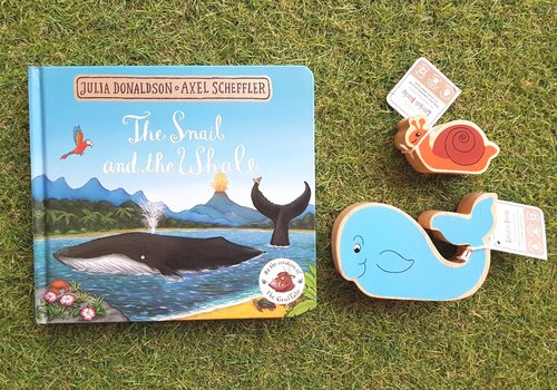 Snail & The Whale Small Story Sack
