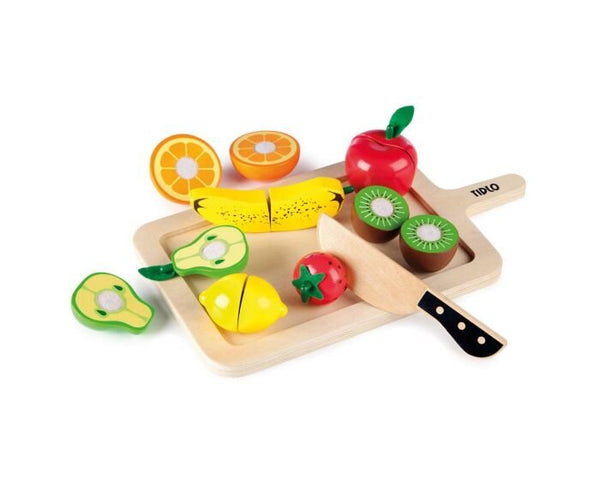 Wooden play fruit