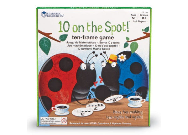 10 on the Spot!™ Ten Frame Game