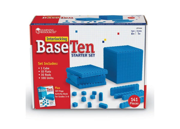 Interlocking Base Ten Starter Set
