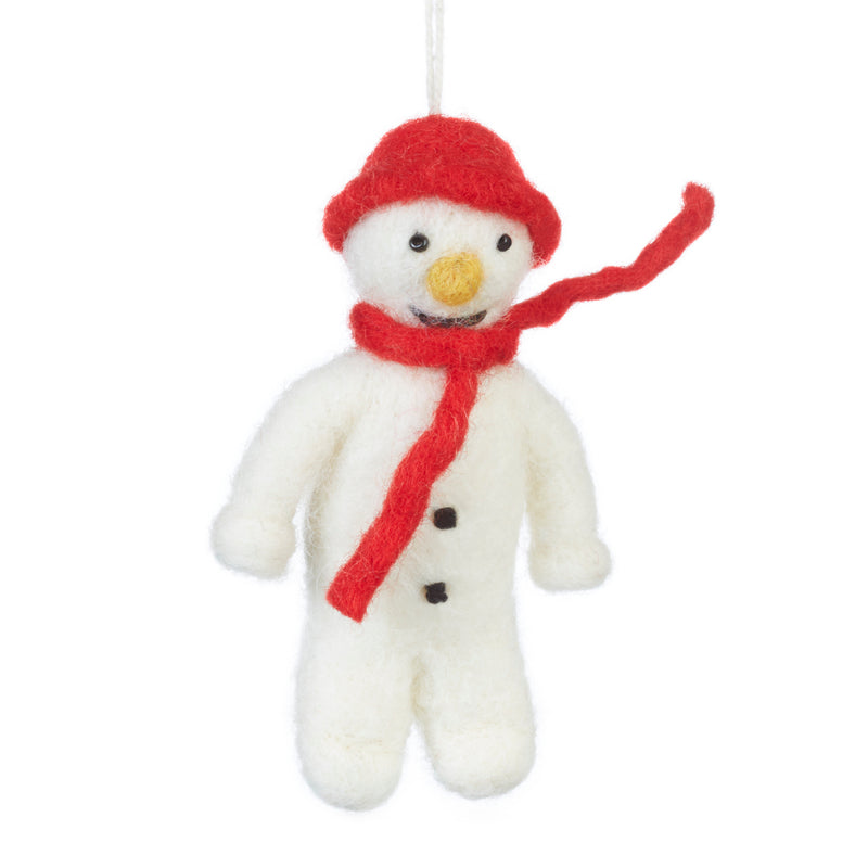 Felt So Good Mr.Snowman - Red