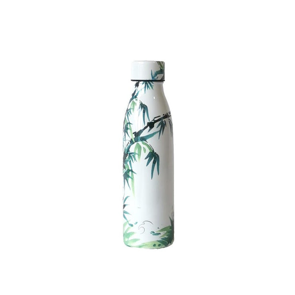 500ml One Green Bottle Life Collection Insulated Bottle - Noble Bamboo